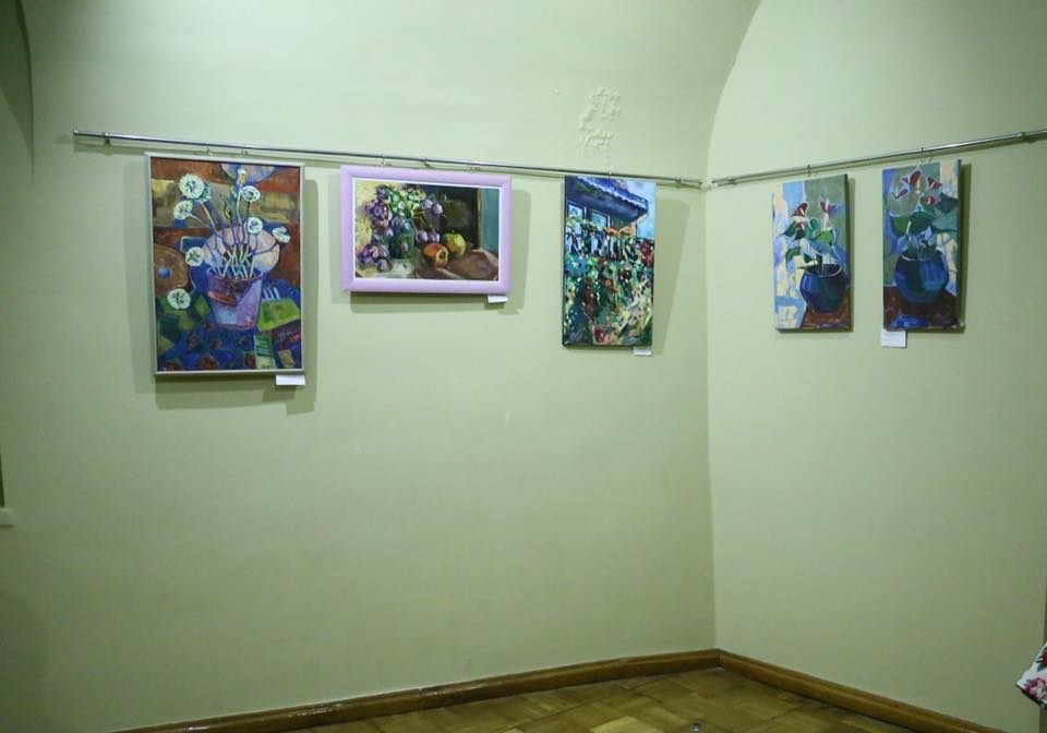 """У картинній галереї """"Паланку"""" в Мукачеві відкрили творчу виставку митців Тячівщини (ФОТО)"""
