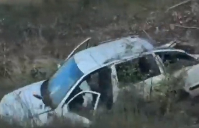 На Берегівщині автомобіль вилетів у кювет (ФОТО)