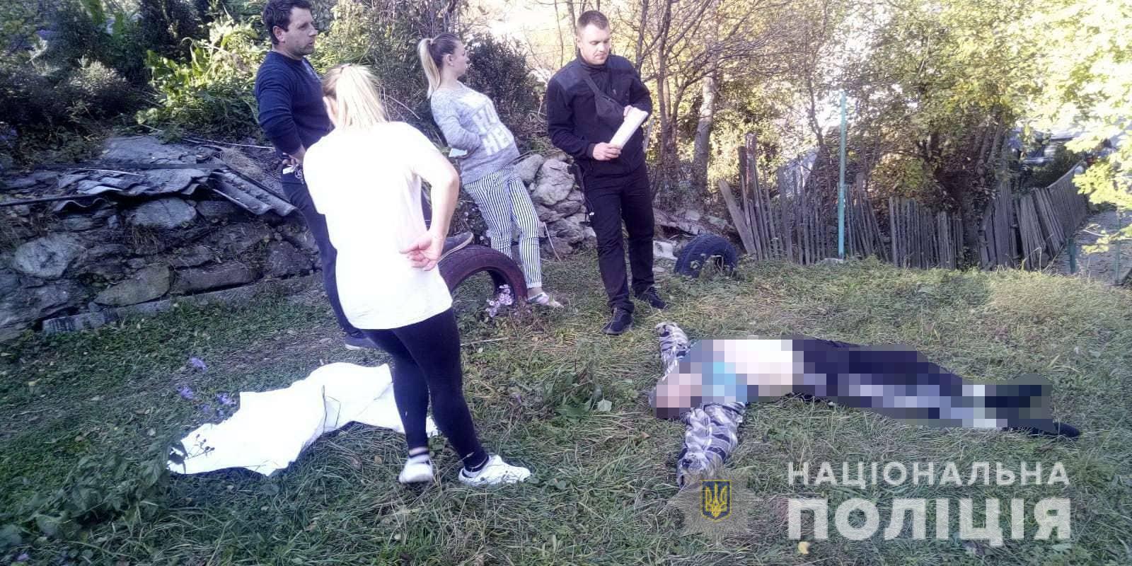 Жорстоке вбивство: На Рахівщині неповнолітній внук вбив дідуся