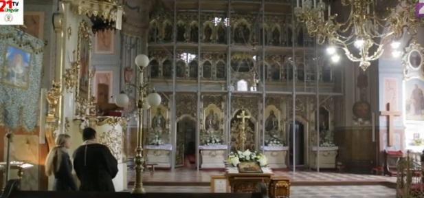 Головна святиня Мукачівської греко-католицької єпархії перебуває на реставрації (ВІДЕО)