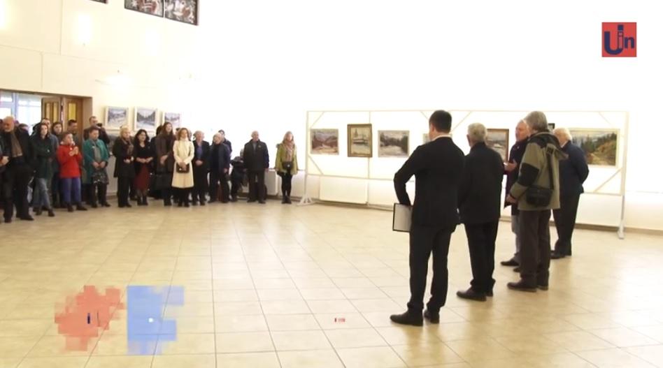 В Ужгородському скансені відкрилася виставка Василя Сенько