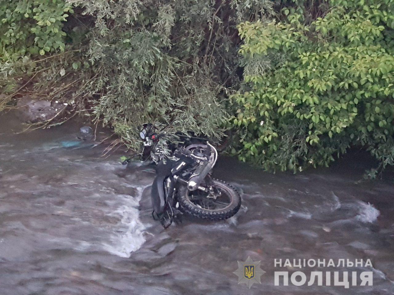 На Рахівщині в двох ДТП з мотоциклістами один водій загинув, інший - в реанімації (ФОТО)