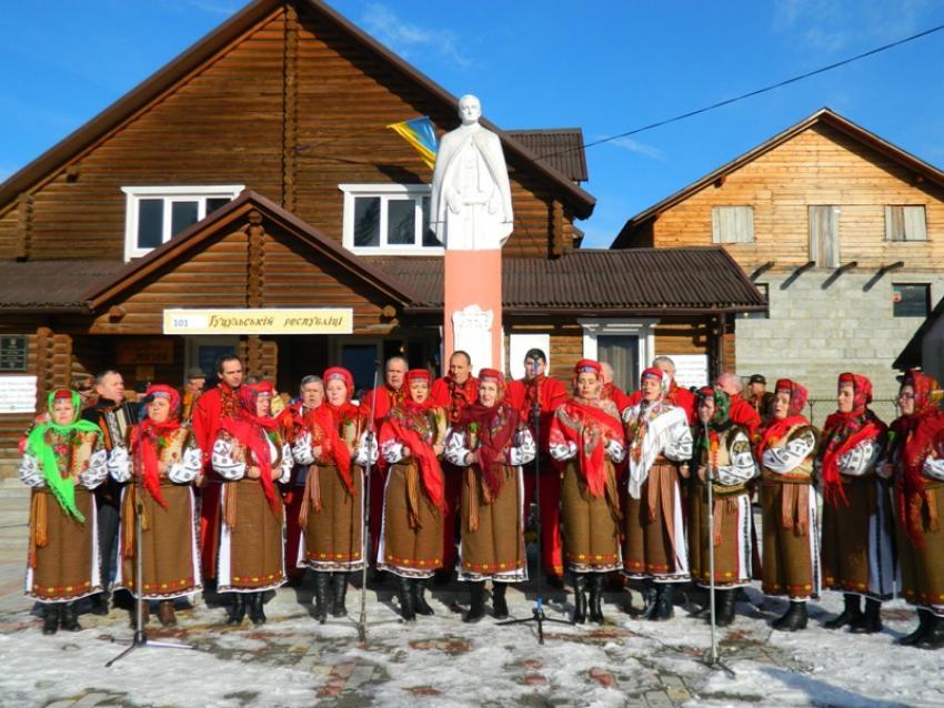 101-шу річницю Гуцульської республіки відзначили у Ясінях, на Рахівщині (ФОТО)