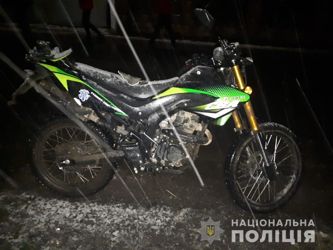 На Свалявщині затримали 20-річного молодика, який п'яним на мотоциклі збив 14-річну дівчину (ФОТО)