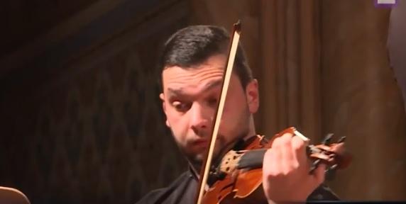 На Закарпаття з нагоди 250-ї річниці з дня народження Бетховена завітав скрипаль Ігор Муравйов (ВІДЕО)