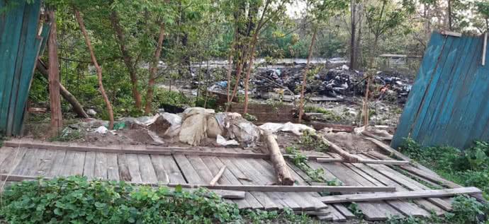 У Києві побили циган із Закарпаття і спалили їх намет (ФОТО)