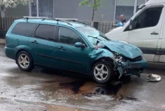 В Іршаві зіткнулися два авто (ФОТО, ВІДЕО)