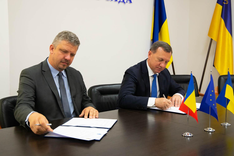 Ужгород і румунський Тиргу-Муреш підписали угоду про співпрацю (ФОТО)