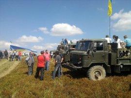 Іршавські «свободівці» відзначили День Державного Прапора України сходженням на полонину Кук