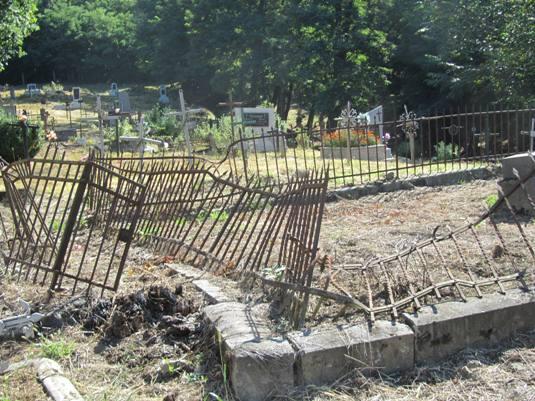 """Результат пошуку зображень за запитом """"вандали понищили кладовище"""""""