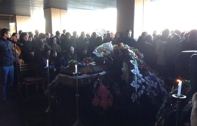 В Ужгороді попрощалися із загиблими на війні з Росією Андрієм Палаєм та Олександром Капушем