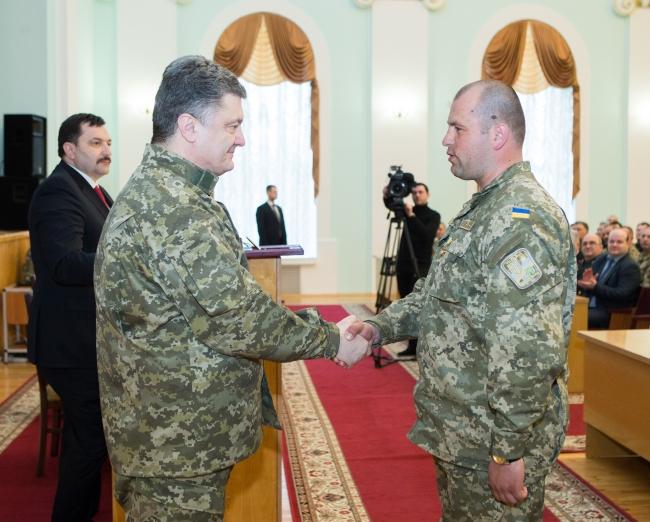 Президент присвоїв звання Героя України комбату 128-ї закарпатської бригади Василю Зубаничу