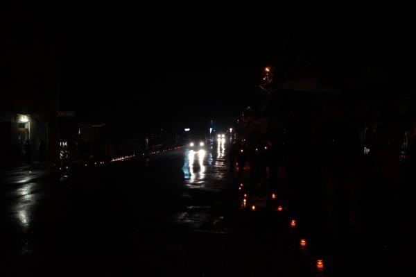 Буштино зустріло полеглого героя Павла Дурунду алеєю свічок