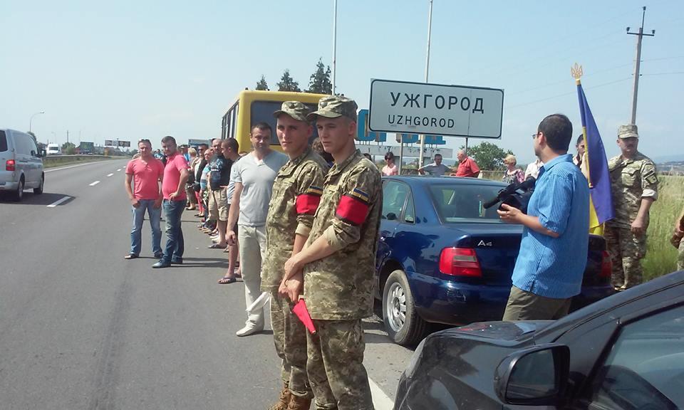 Ужгород зустрів полеглого у війні Василя Варгу.
