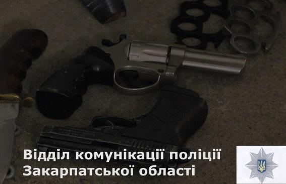 Закарпатці масово зберігають вдома нелегальну зброю (ФОТО)