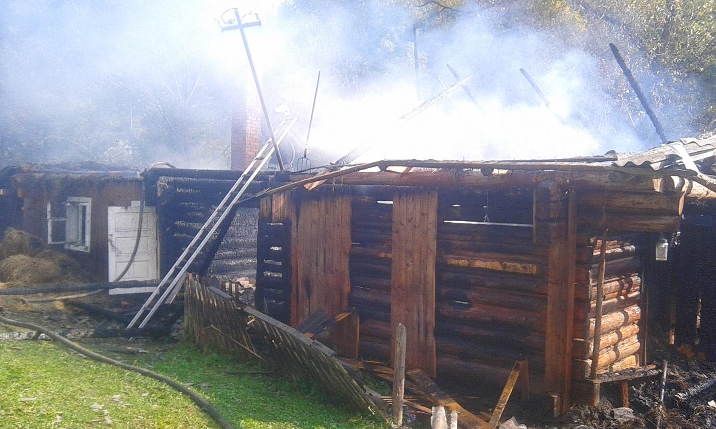 Пожежа в надвірній споруді могла знищити будинок та дроварні