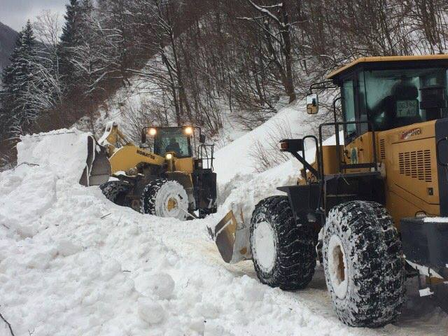 На Мiжгiрщинi рятувальники викопували з-під лавини автівки та будинки