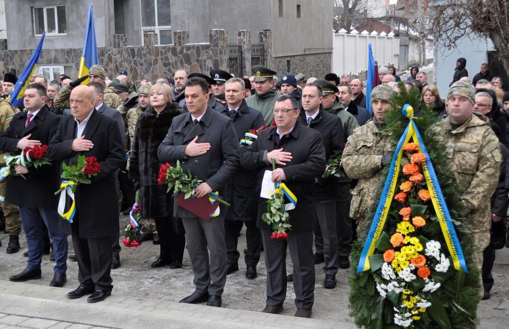 На Закарпатті поіменно вшанували пам'ять 53-х краян, які загинули в Афганістані (ФОТО)