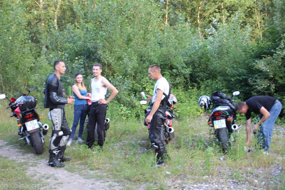 До Виноградова на 12-й з'їзд мотолюбителів з'їхалися півтори сотні байкерів (ФОТО)