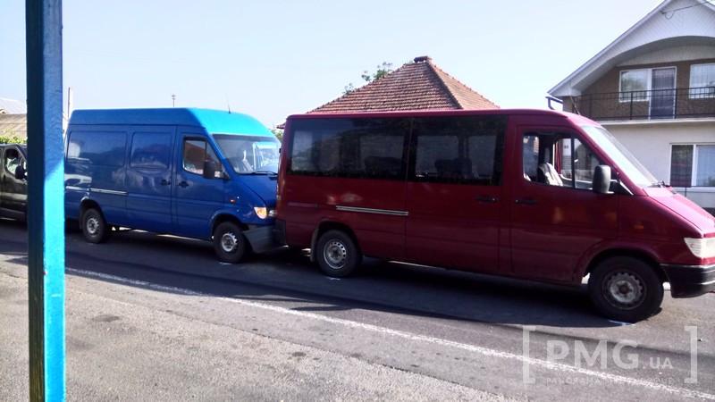 У Ракошині на Мукачівщині зіткнулися 4 авто