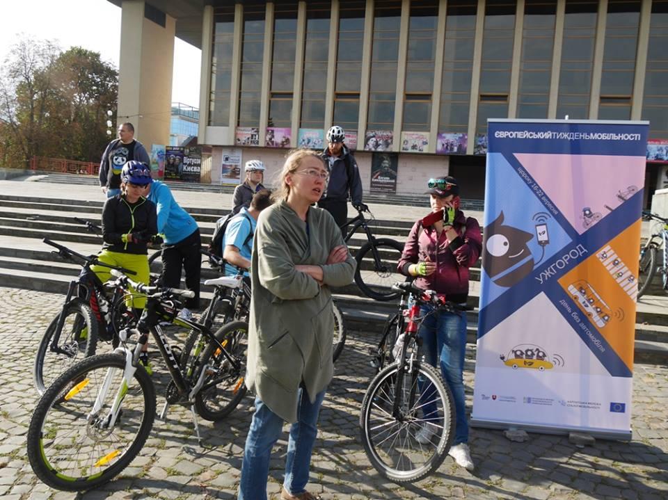 Європейський тиждень мобільності стартував в Ужгороді (ФОТО)