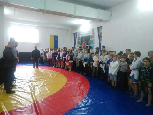 У Воловці пройшов чемпіонат Закарпатської області з самбо