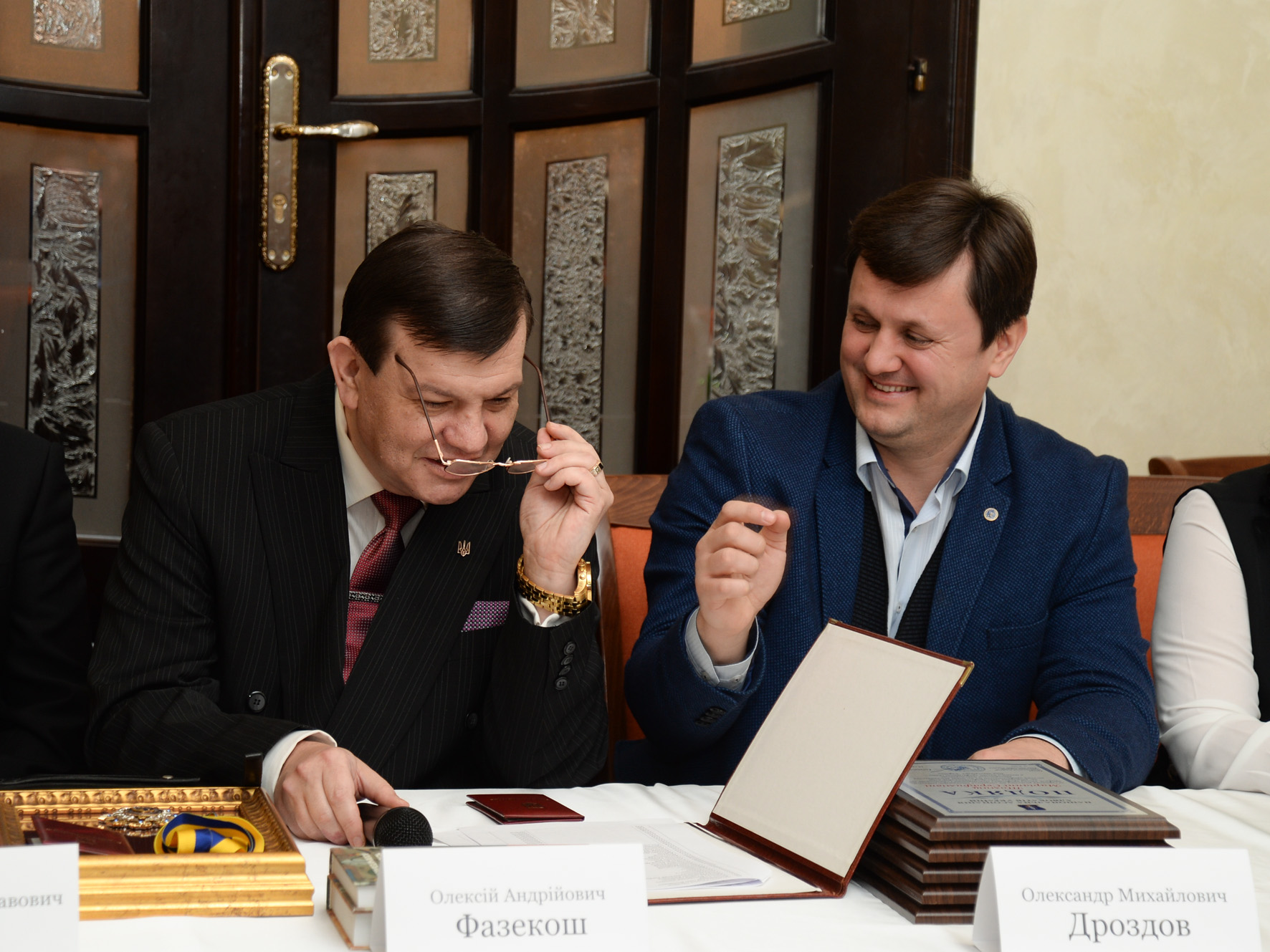 Синергія захисту, або як Олексій Фазекош та Олександр Дроздов домовились про співпрацю на шляху розбудови Правової держави (Відео)