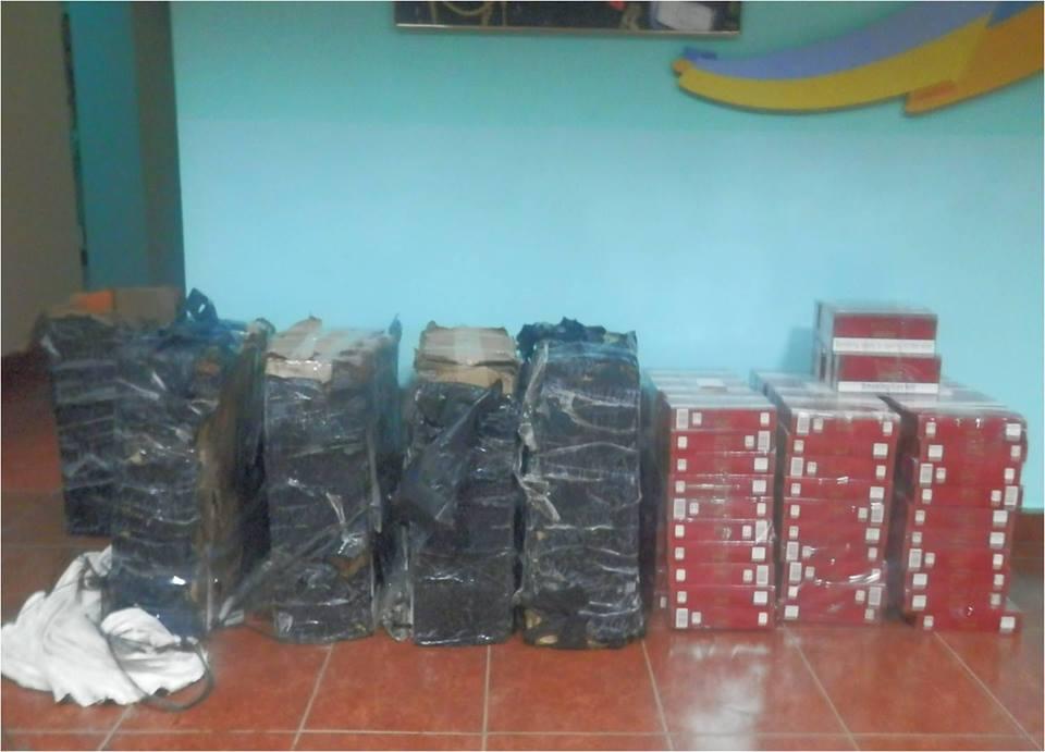 Контрабандисти втекли від прикордонного патруля, покинувши біля кордону 8 пакунків сигарет (ФОТО)