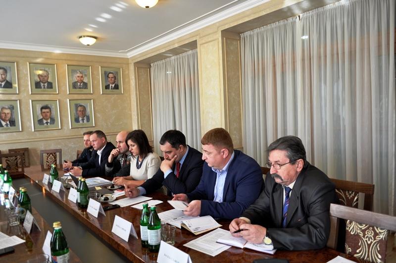 Відбулася нарада з питань обговорення  будівництва дороги  Студений - Хащованя