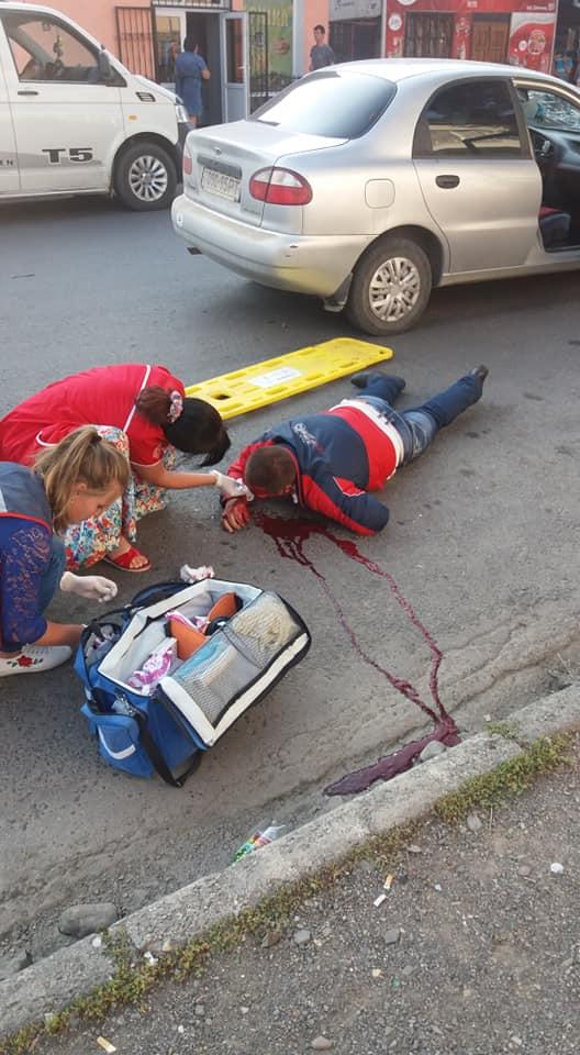 У ДТП травмувався водій мопеда