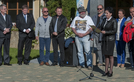 На Свалявщині пройшов міжнародний скульптурний симпозіум (ФОТО)