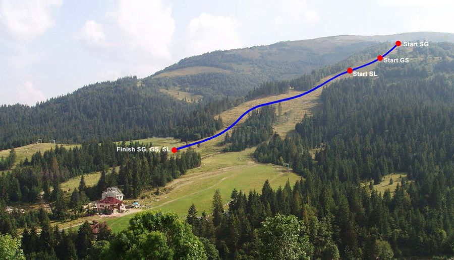 Гимбу інспектували на предмет проведення міжнародних змагань з гірськолижного спорту