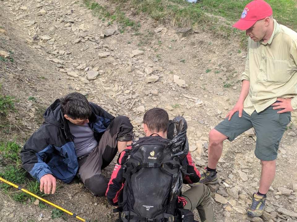 У районі гори Кук травмувався турист із Дніпра