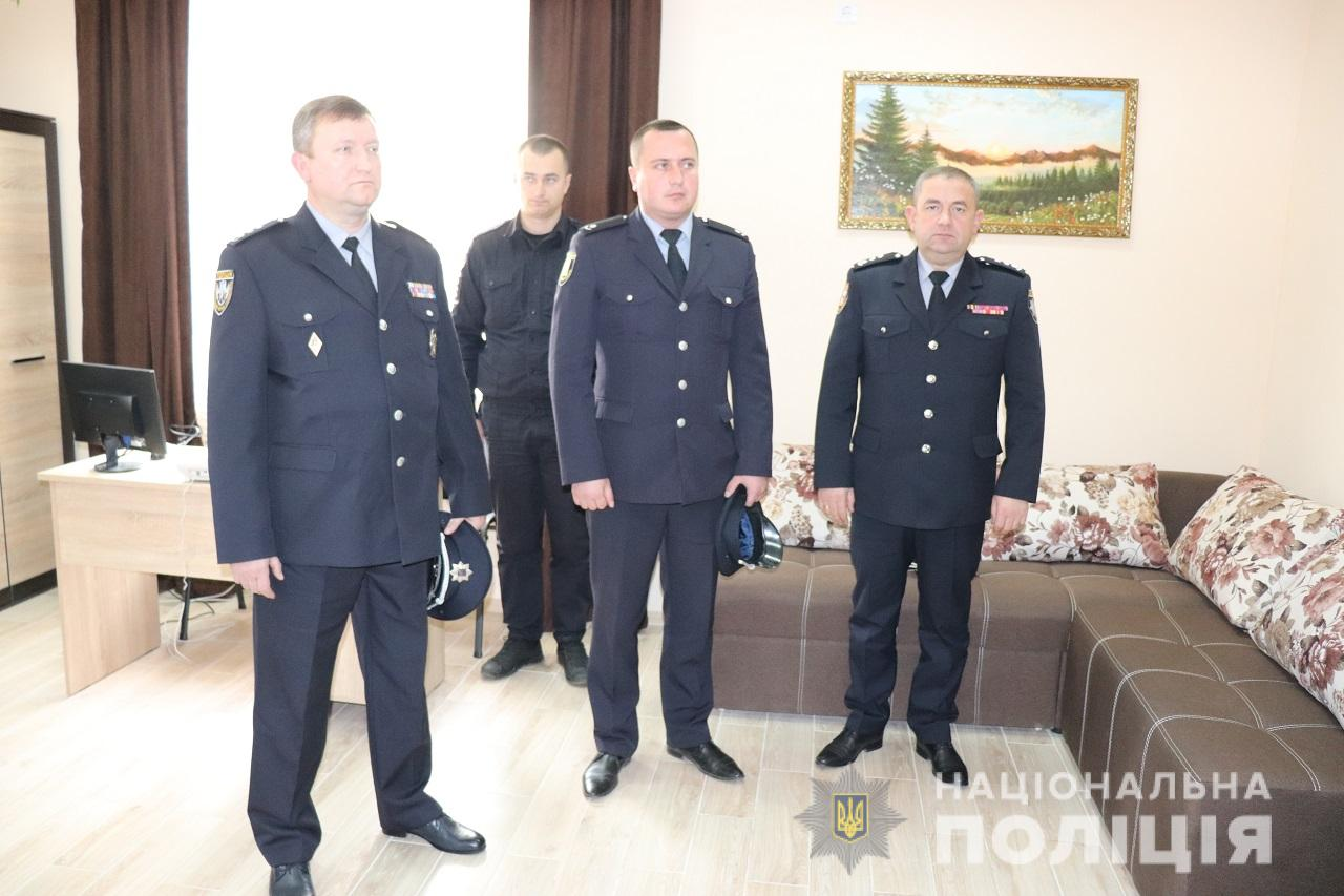 У Синевирі відкрили нову поліцейську станцію
