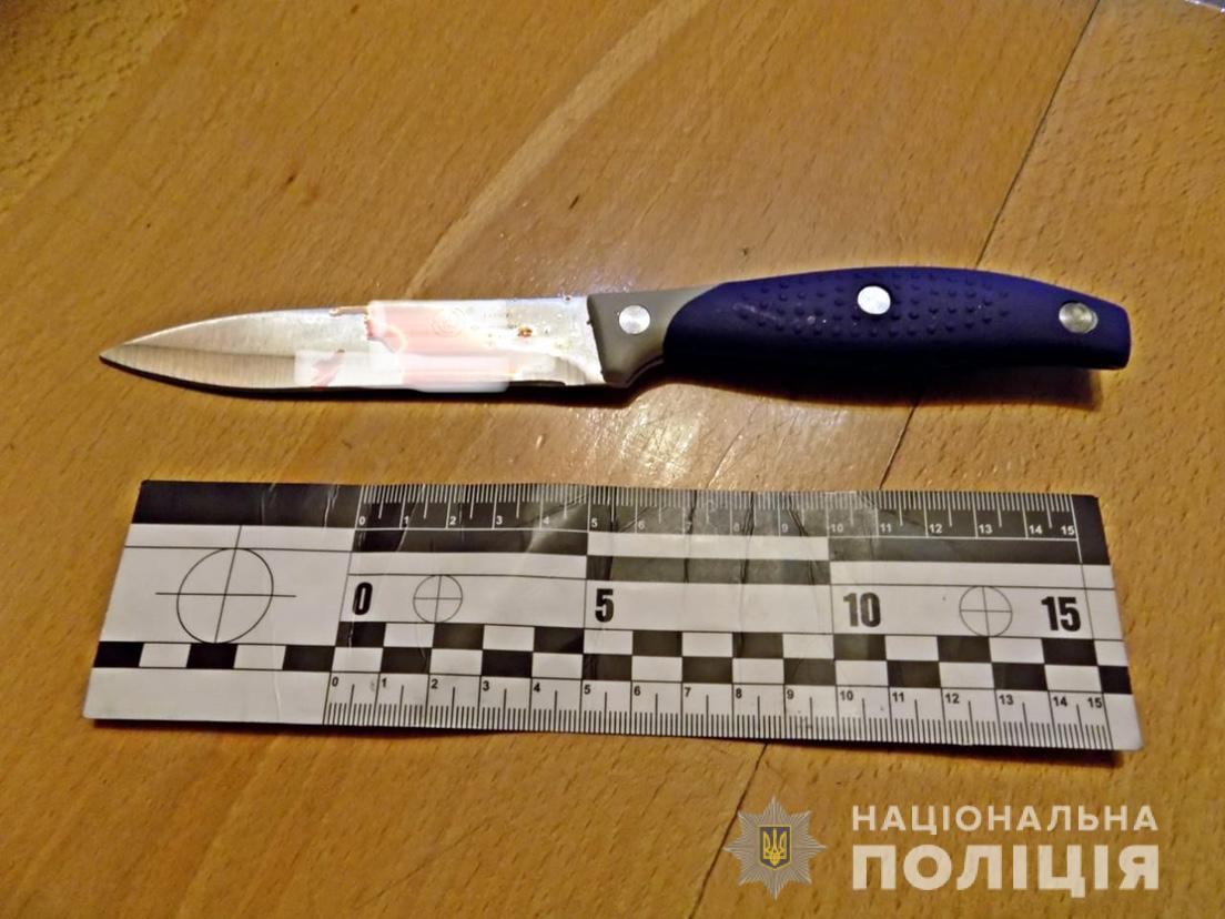 У Міжгір'ї в кафе 21-річний п'яний відвідувач вдарив ножем в живіт 20-річного