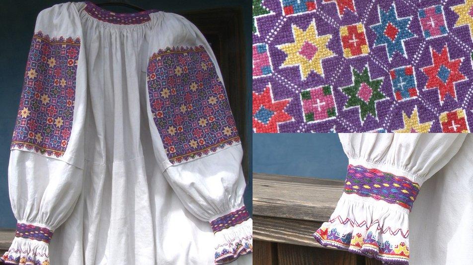Заспульниця - традиційна вишиванка Хустського району