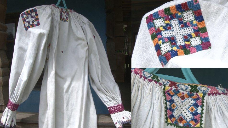 Традиційна вишиванка Хустського району