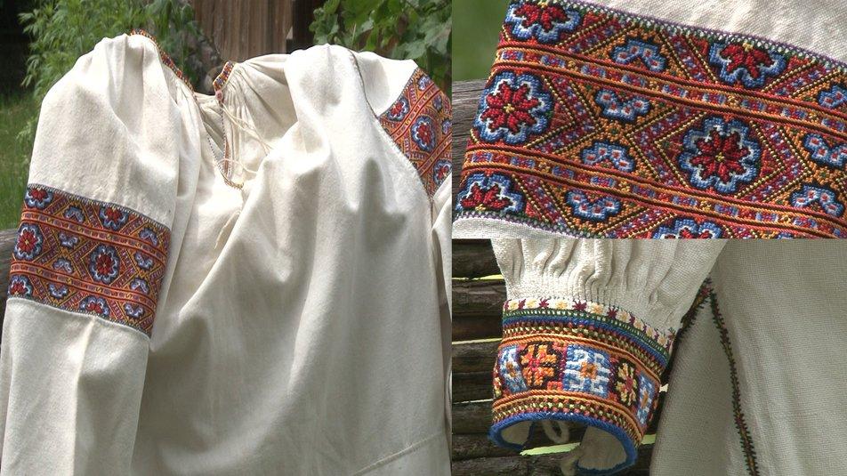 Традиційна вишиванка Рахівського району