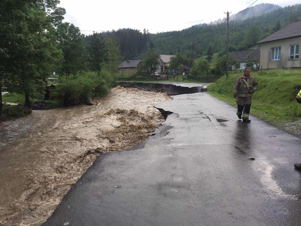 За дві години випала 20-денна норма дощів