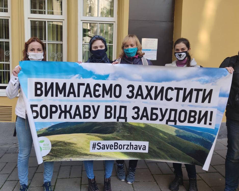 Суд продовжить розгляд апеляційних скарг забудовника ВЕС на закарпатській Боржаві після перерви 3 листопада
