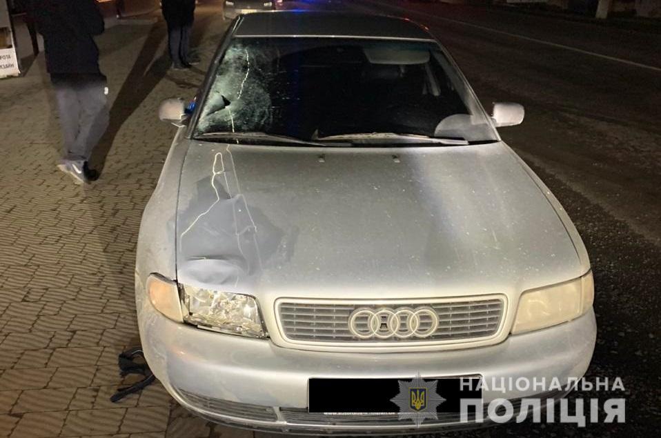 П'яне ДТП на Закарпатті: Audi смертельно травмувала пішохода