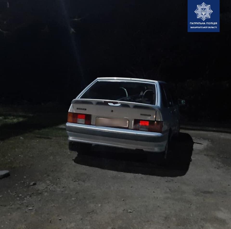 У Мукачеві зупинили водія з вмістом алкоголю в крові у 13 разів більше за норму