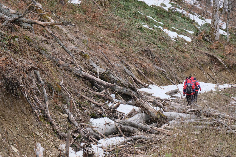 Тіло лижника, що зник в горах на Закарпатті ще 13 лютого, знайшли в ущелині біля потічка коло підніжжя гори Жид-Магура