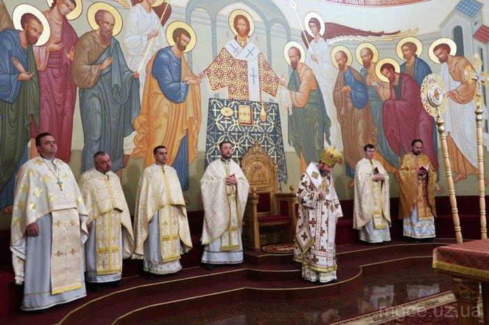 Архієрейське богослужіння Мукачівської Греко-Католицької Єпархії, Мукачево, 03 квітня 2021