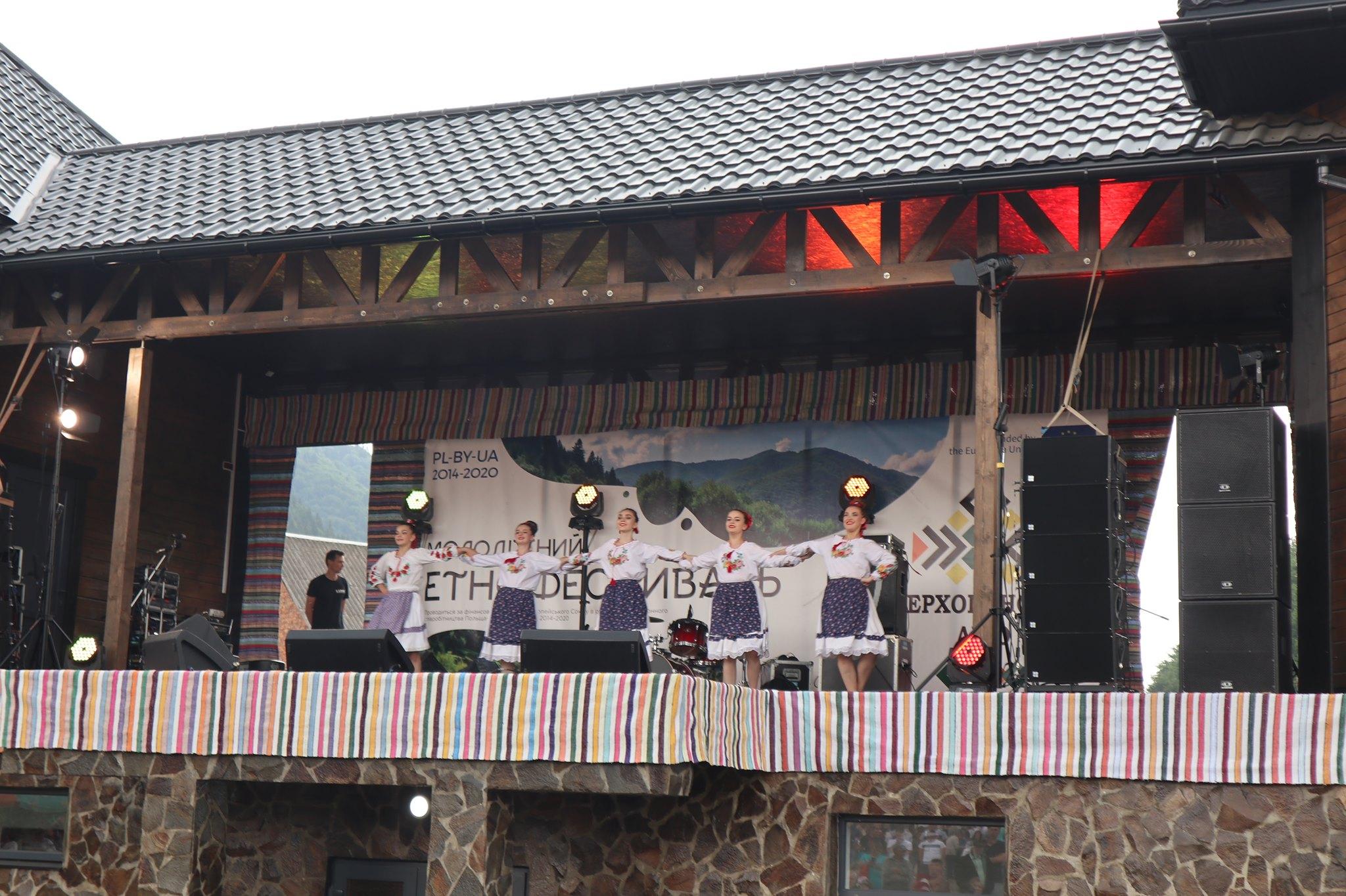 У  Колочаві відбувся молодіжний етнофестиваль