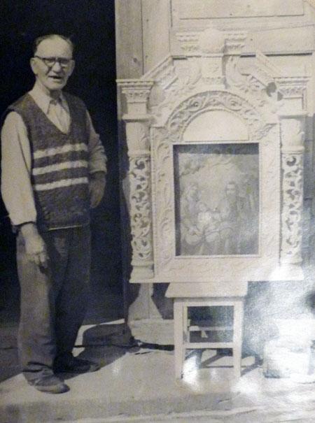 Іван Павлишинець виготовив іконостаси і престоли для понад 35 церков Закарпаття і Словаччини