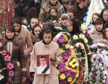 """На Міжгірщині ховали Героя з добровольчого батальйону """"Свята Марія"""" (ВІДЕО)"""