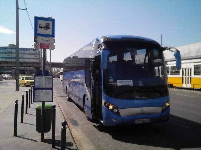 З Ужгорода до Києва буде їздити автобус