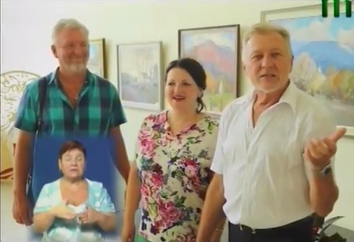 Художник з Великоберезнянщини відзначив 60-ліття виставкою в Ужгороді