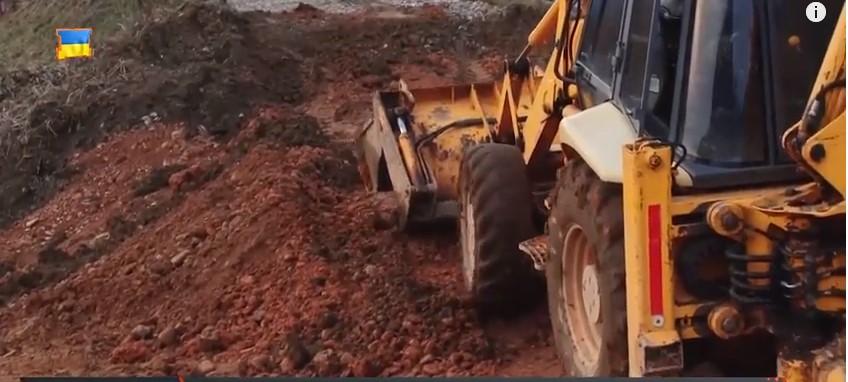 У Боржавському на Виноградівщині, в разі сприятливих умов, цього тижня стартують роботи з укріплення дамби (ВІДЕО)